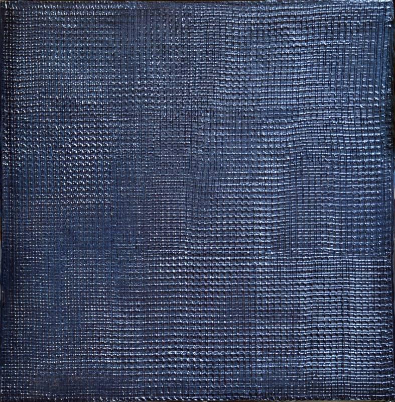 洪藝真 無題 50x50x5.5cm(x2) 2007 壓克力顏料、畫布、烤漆、玻璃纖維