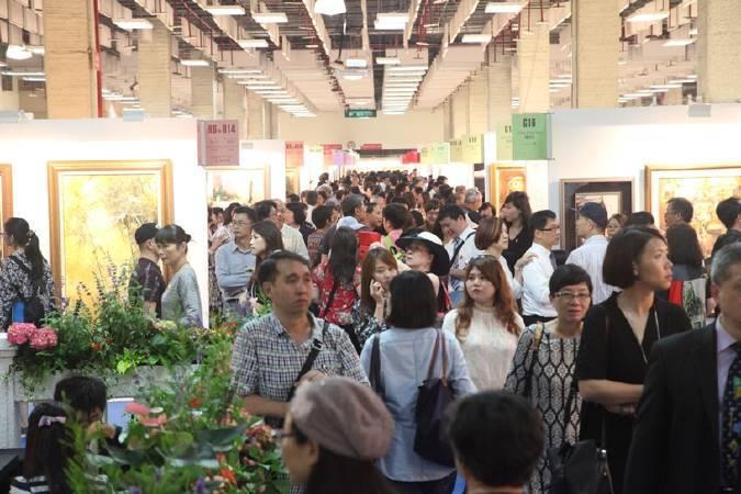 「2017台北新藝術博覽會」匯聚63國360位藝術家3000件精采作品