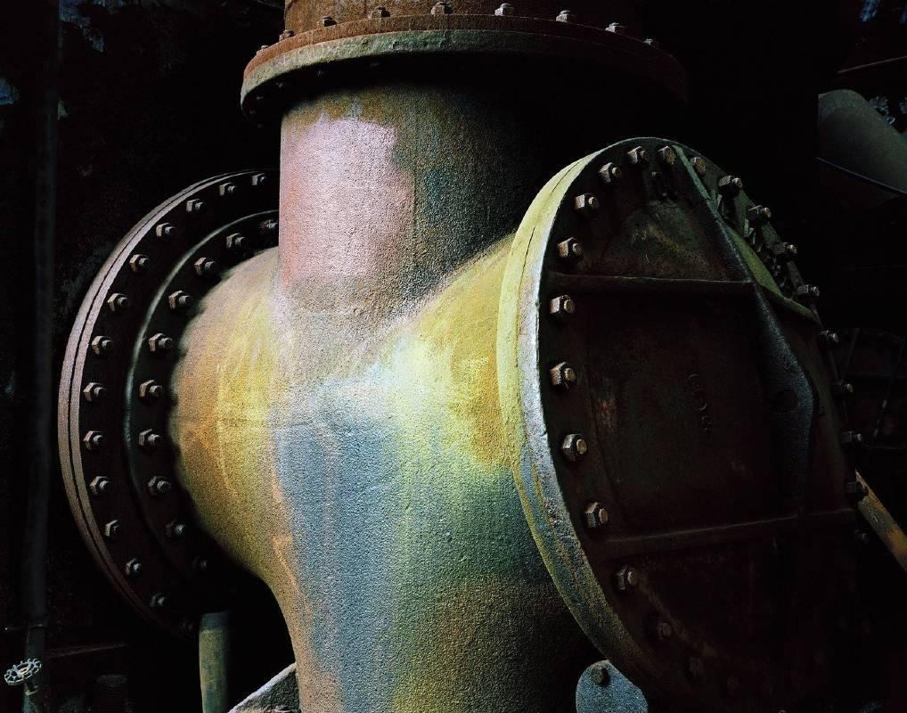 3_主冷風爐,匹茲堡凱莉鋼鐵廠,2015年10月30日(你的與我的;表皮肌膚) Cold Blast Main, Carrie Furnace, Pittsburgh, 14.10