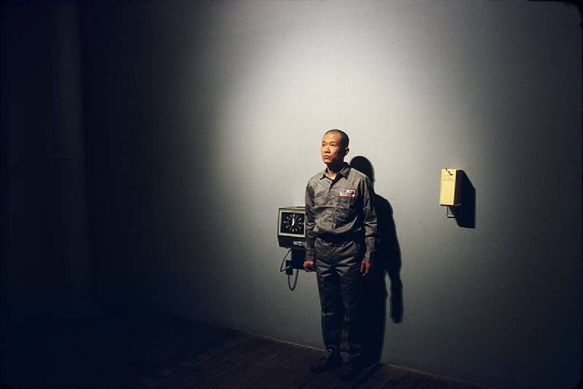 Tehching Hsieh, One Year Performance 1980-1981. Performance, New York. Photograph: Michael Shen, ©Tehching Hsieh. Courtesy of the artist and Sean Kelly Gallery.
