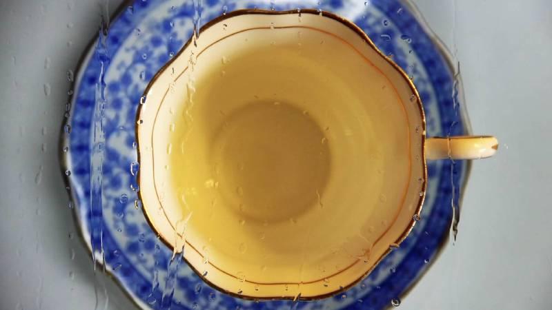 杯與盤Cup and Saucer