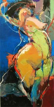 屬於5 Belong | 油彩畫布Oil on canvas | 122x62cm|2016
