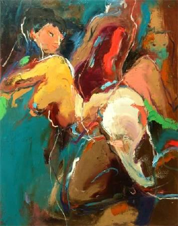 如果1 If | 油彩畫布Oil on canvas | 116.5x91cm|2015