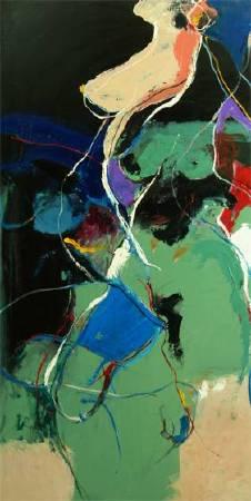 屬於1 Belong | 油彩畫布Oil on canvas | 122x62cm|2015