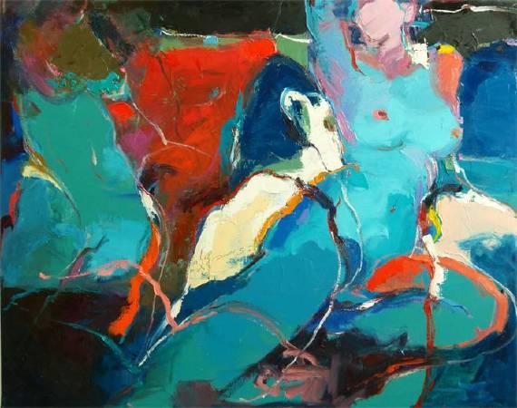 無限6 Unlimted | 油彩畫布Oil on canvas | 91x72.5cm|2015