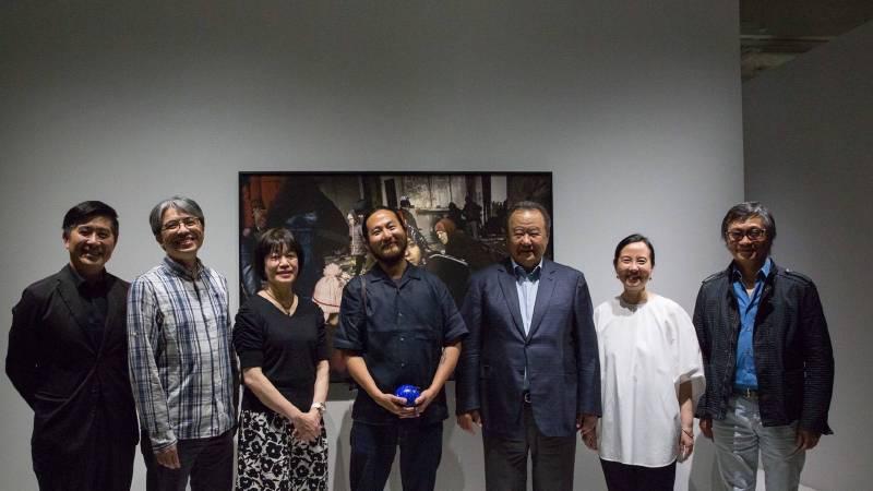 《左心房右心室 張雍作品2003-2017攝影展》開展記者會。圖/ 學學提供。