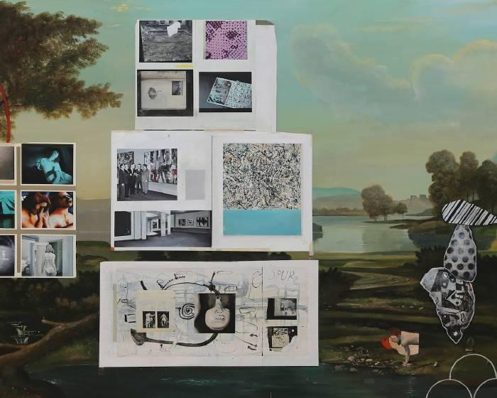 藝術門(Pearl Lam Galleries)【蓋德•奎恩】亞洲首場《玫瑰、櫻桃、鐵鏽、火烈鳥》