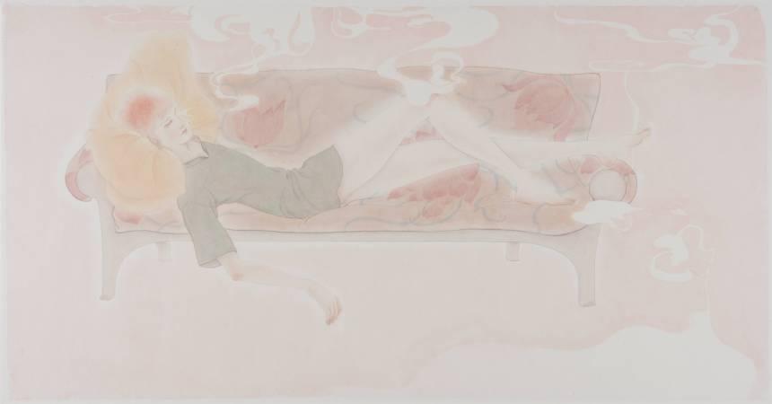 黃向藝 粉紅色的夢  Wong Xiang-Yi Pinkish Dream