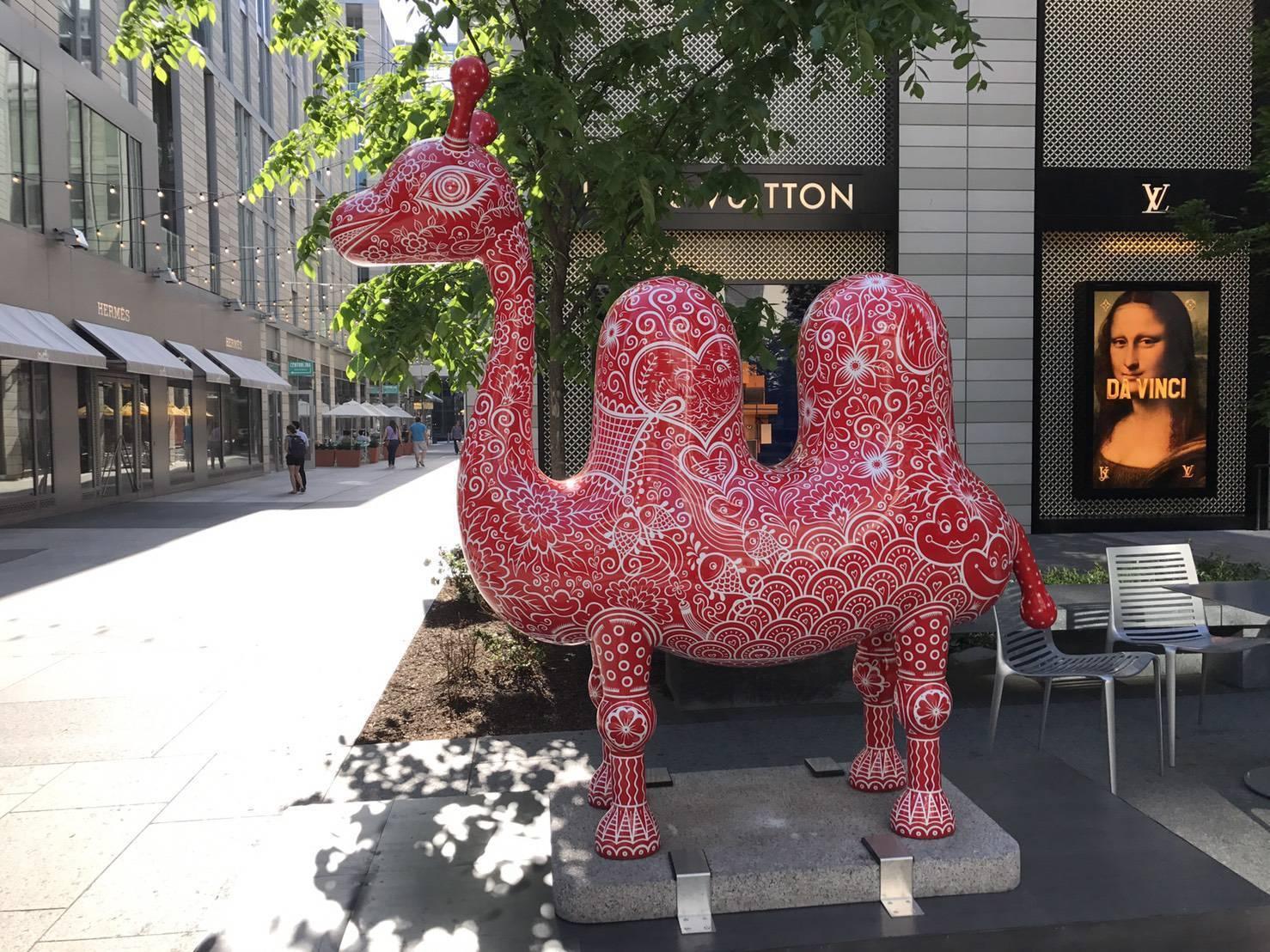 華盛頓DC城市中心/洪易|雙峰駱駝
