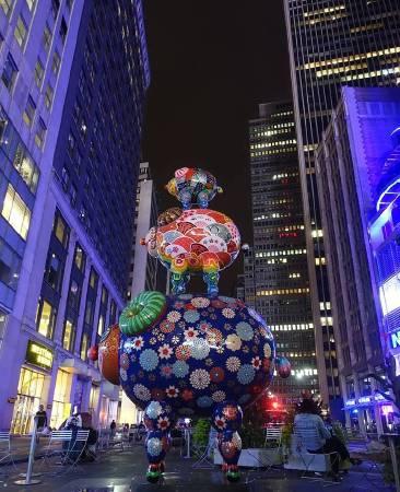 「三羊開泰」坐落在百老匯街與41街路口