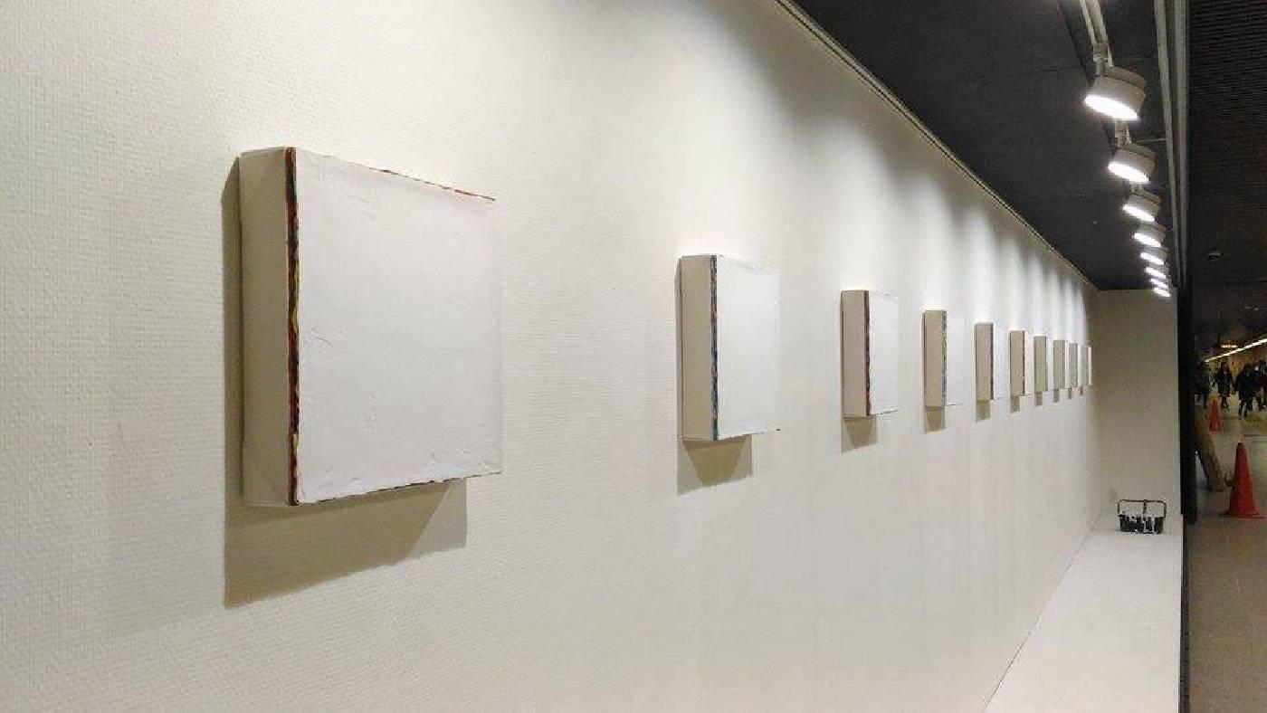 鰐渕 未来 Miki Wanibuchi 《高雄系列2016》2016 30x30x6cm  壓克力 畫布