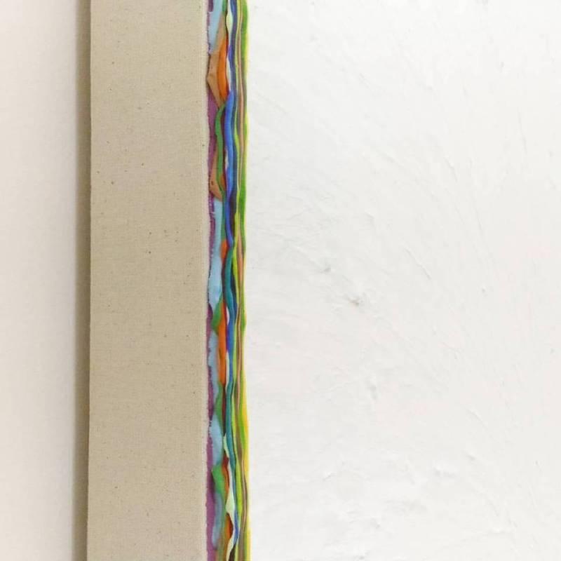 鰐渕 未来 Miki Wanibuchi 《高雄系列 2016 - 第三天》局部  2016  130x130x6cm  壓克力 畫布