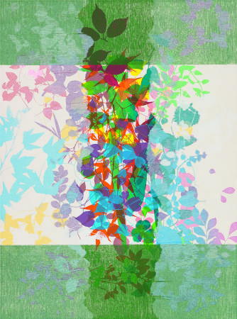 鐘有輝Chung You Hui・白色能量White Energy・76x56.5cm・讀幅創作、併用版、紙張Combined Methods・2013