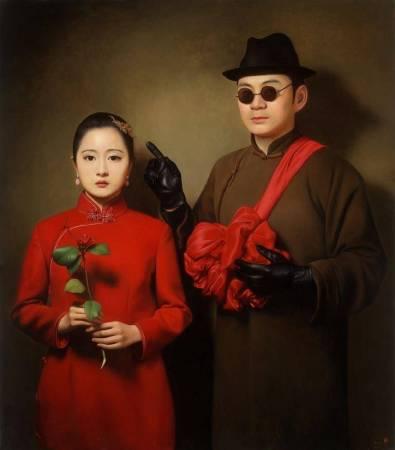 《大民國-天意 》 150X170CM   2015  Oil on Canvas