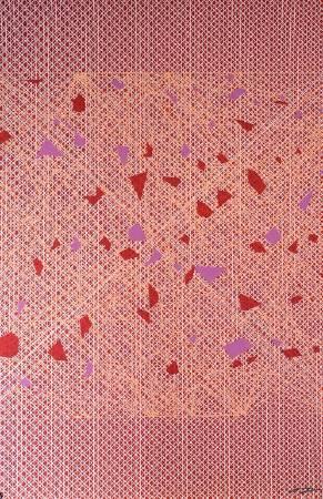 Chou_Mingyi_Se2_ 絹印版畫Silkscreen_45 x 68 cm