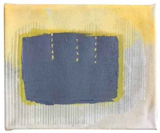 无题,18cmx22cm,综合材料及缝补,2017