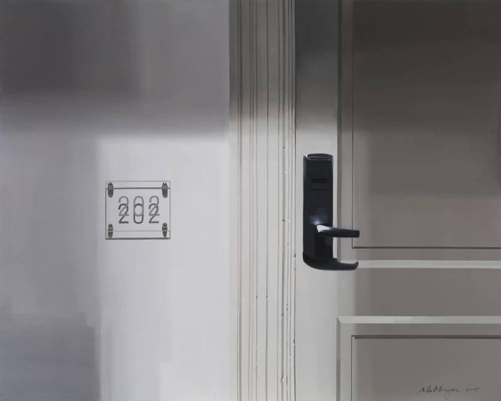 S的房間 S's Room 120 x 150cm 布面油畫 Oil on Canvas 2015