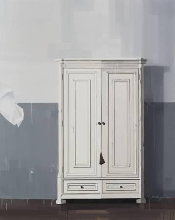 衣櫃 Wardrobe 220 x 175cm 布面油畫 Oil on Canvas 2016