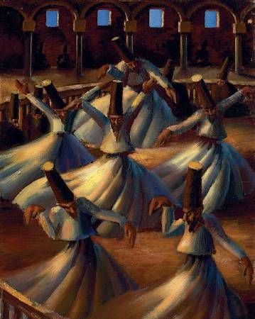 Mahmoud Said〈The Whirling Dervishes〉