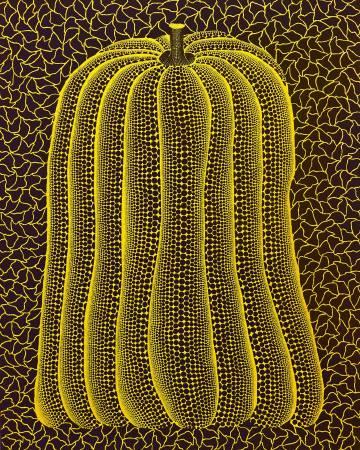 草間彌生Yayoi Kusama  南瓜 Pumpkin 91x72.7cm 1991  布上壓克力彩 Acrylic on canvas