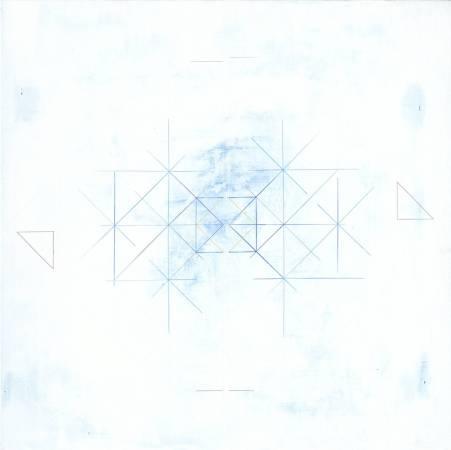 李政勳 三角形,第一號/Triangles No.1 ·90×90×5 cm ·壓克力畫布·2017