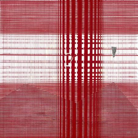 李政勳 抵達/Arrival ·110×110×5 cm ·壓克力畫布 ·2017