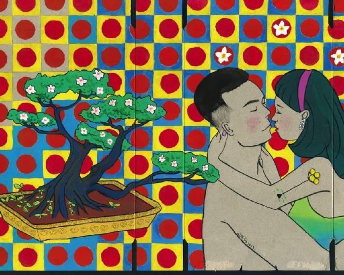 【長鏡頭的荒謬世間情】倪瑞宏、陳渝諺雙人創作展「真愛之吻」