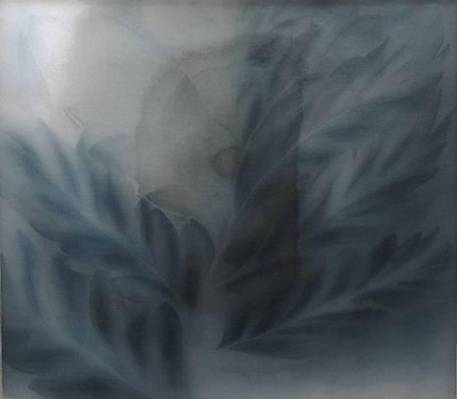 謝欣陵,消逝的靈,L30xW25cm,水墨,2016