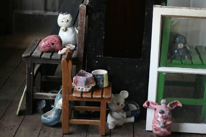 淡水國中美術班將在開放日中展出〈為什麼裡沒有為什麼〉陶藝創作展。