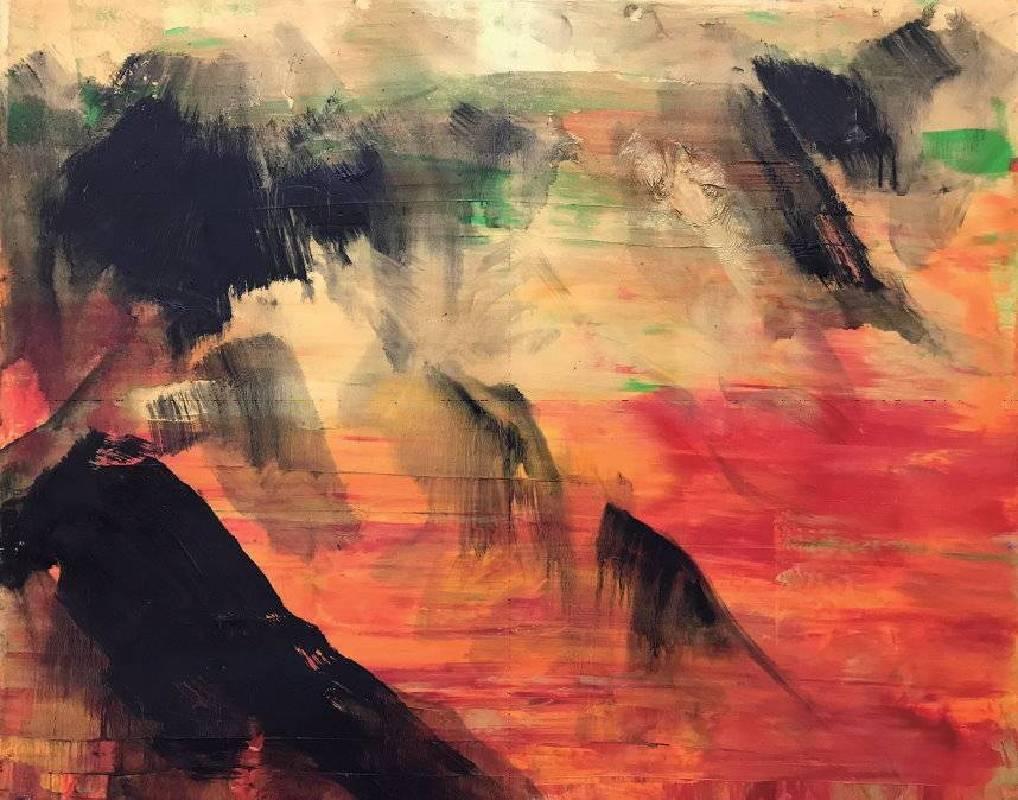 山中的黃金 91.5x116cm (50F) 油畫