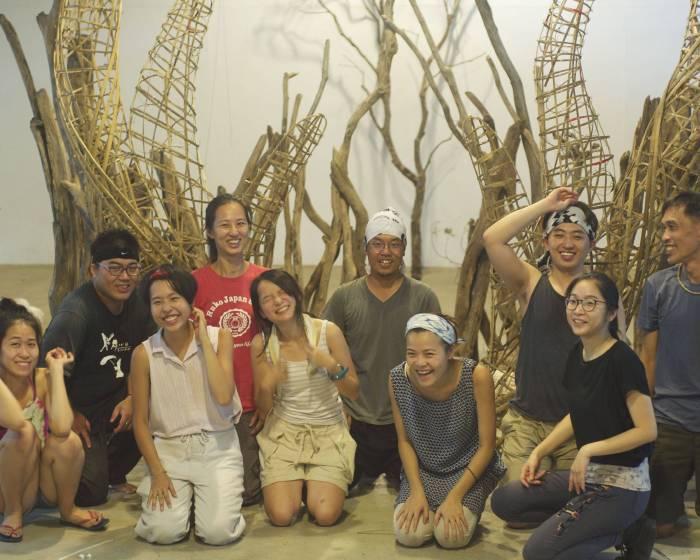 「回巢」展覽 共同編織感受大地的祝福