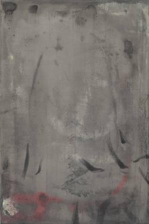 耿晧剛│米蘭手稿-4│60 x 40 cm│壓克力、棉布│1997