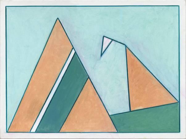 霍剛  抽象2015-052 97x130cm 油彩、畫布 2015