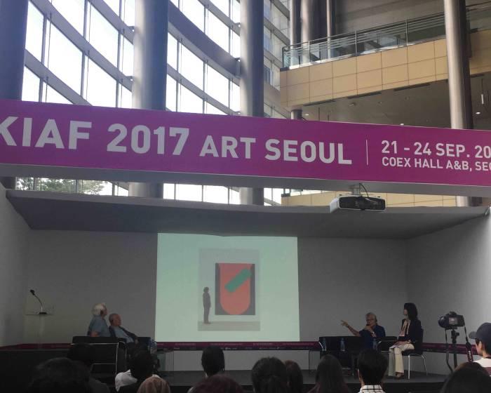 KIAF 2017 韓國國際藝術博覽會:亞洲三大抽象畫派 三大巨擘同台論壇