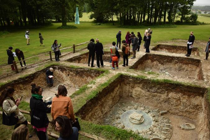 2016 英國卡斯雕塑基金會《卜湳文明遺跡-魂遁之輪》