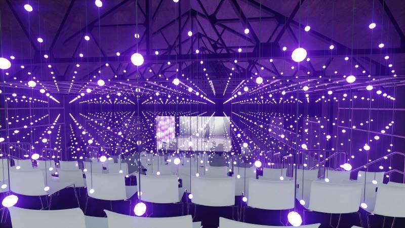 全球首創沈浸式3D劇場燈光
