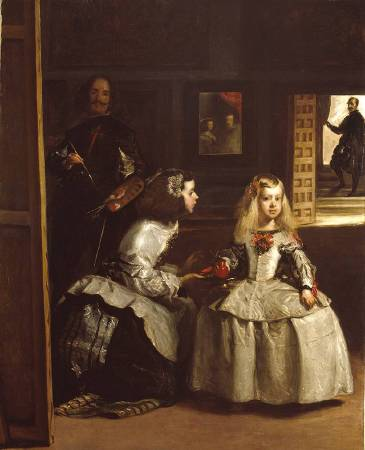 X8889 John Phillip Partial copy of 'Las Meninas', 1862 Oil on canvas 185 × 148 cm © Royal Academy of Arts, London