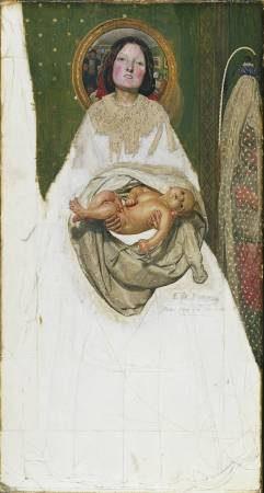X8892 Ford Madox Brown Take your Son, Sir!, 1851-92 Oil on canvas 70.5 × 38.1 cm © Tate, London (N04429)