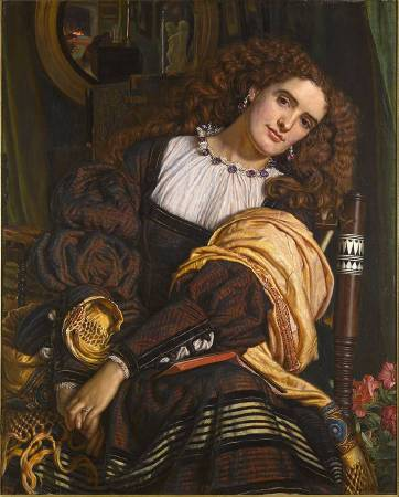 X8893 William Holman Hunt Il Dolce Far Niente, 1866 Oil on canvas 99.1 × 80 cm Private collection © Photo courtesy of the owner