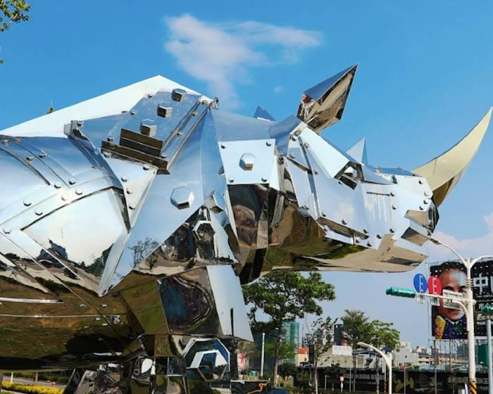 中悅建設開發股份有限公司:【威尼斯雙年展台灣同步展-「金鋼再現 生生不息」施力仁雕塑展】