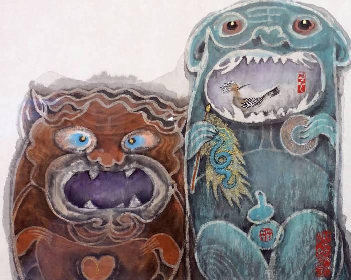 宏藝術 現代性水墨的多種創新與造境 藝術家林章湖專訪