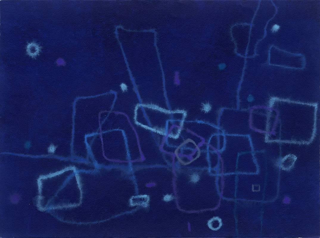 Jo Hsieh None-Space S132 1997 57x76cm 複合媒材、紙