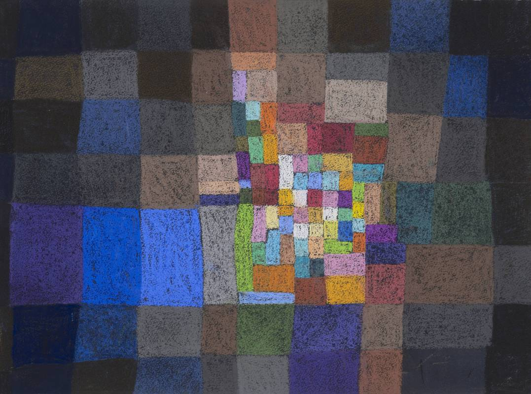 Jo Hsieh None-Space T1 1995 55x74cm 粉彩、紙