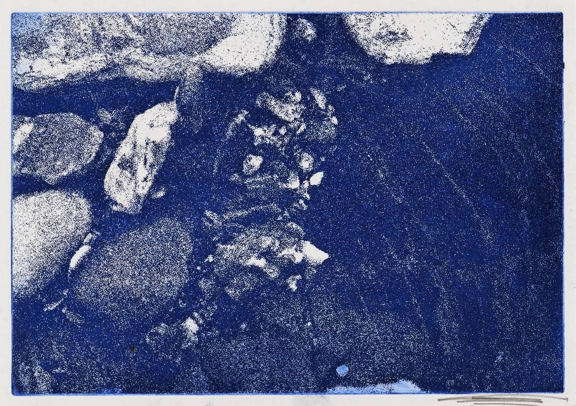 Jo Hsieh None-Space T43  2001 21.5x15cm  照相腐蝕版畫、紙