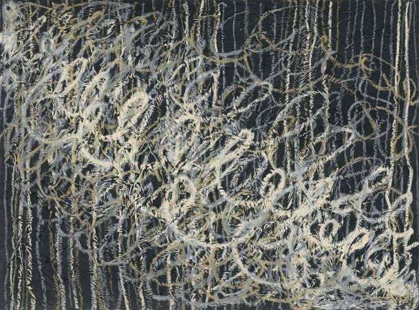 Jo Hsieh None-Space M13 1995 57x76.5cm 複合媒材、紙