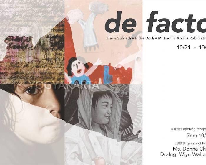 藝境畫廊【de facto|印尼藝術家聯展】
