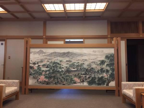 《慈雲甘露圖》藏於京都名寺三十三間堂之貴賓室
