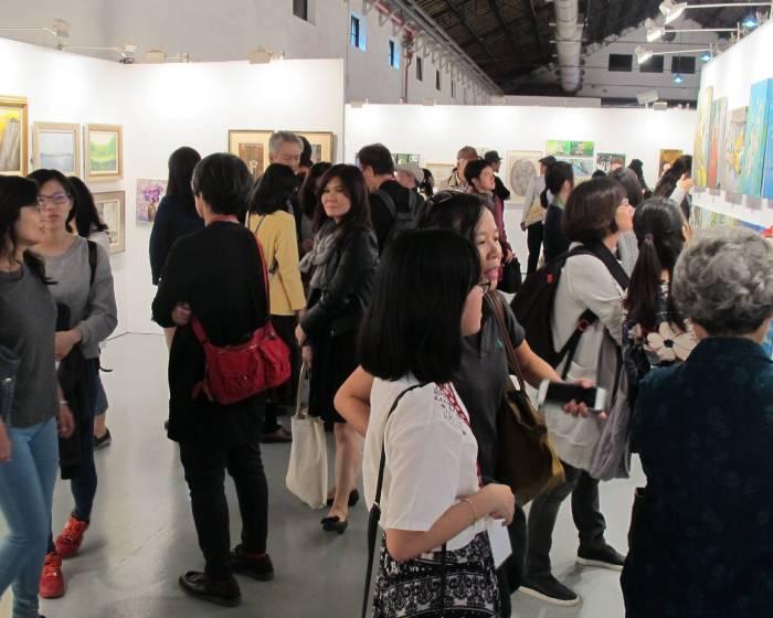 台灣輕鬆藝術博覽會【2017 ART easy 台灣輕鬆藝術博覽會】CP值超高 小資族也能成為收藏家