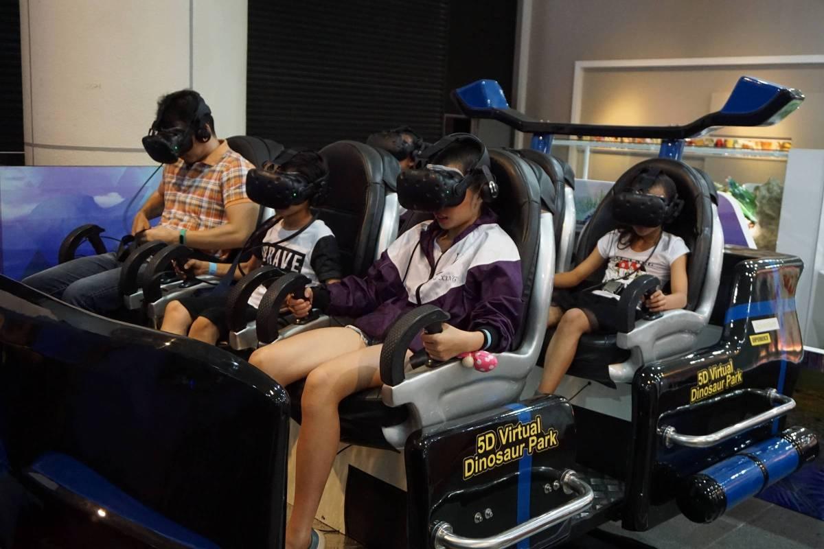 展場-5D虛擬恐龍樂園