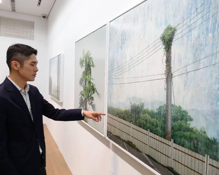 尊彩藝術中心:【胡朝聰個展】成為一個地方